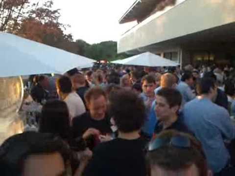 Shira Lazar TechCrunch Party with Michael Arrington