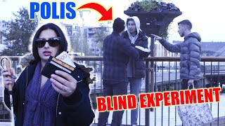 BLIND PERSON TAPPAR 500 KRONOR EXPERIMENT!