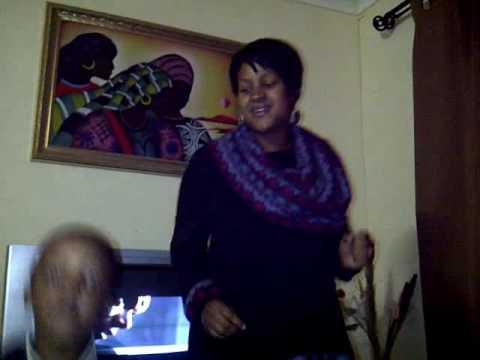Modikwa and Lope dancing for ska Rumba Nirvana 2011