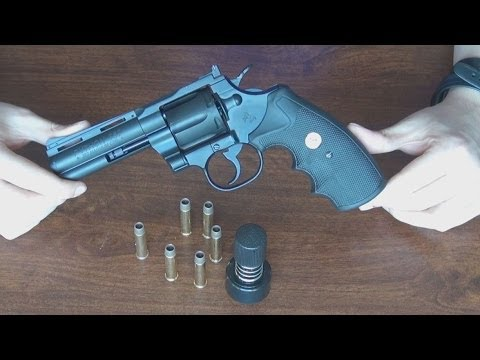 (Airsoft) Unboxing the Colt Python King Arms/Cybergun