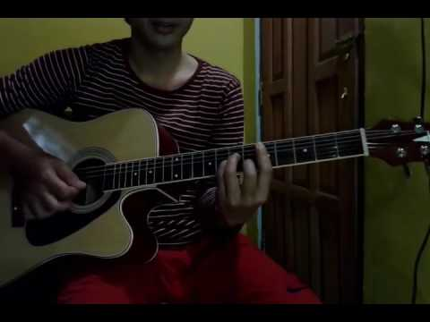 Belajar kocokan  gitar dangdut akustik  lagu edan turun