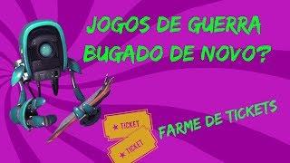 WAR GAMES BUGADO AGAIN? FARME DE TICKETS-FORTNITE-