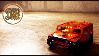 RC HUMMER Homemade - HPI sprint 2