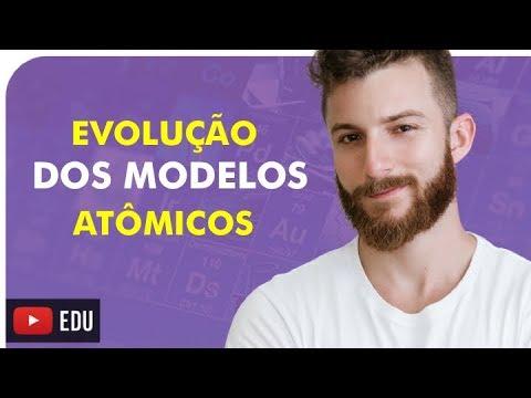 A EVOLUÇÃO DOS MODELOS ATÔMICOS - QUÍMICA - Prof. Marcus
