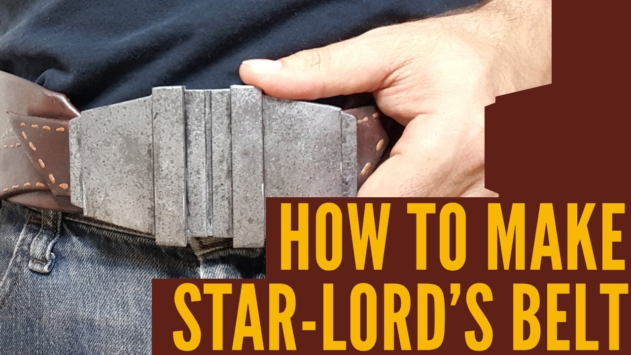how to make a star lord belt w template star lord cosplay from