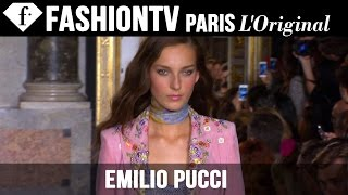 Emilio Pucci Spring/Summer 2015 FIRST LOOK | Milan Fashion Week | FashionTV