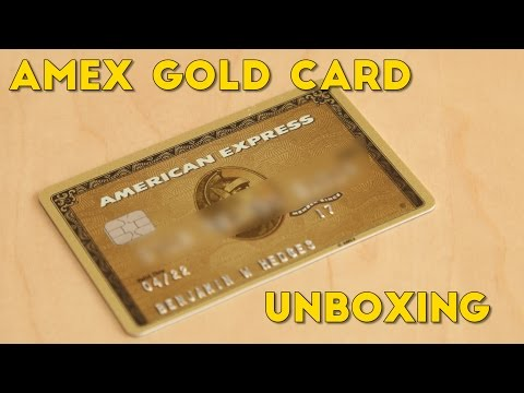 Amex Gold Card Unboxing Perks Explained