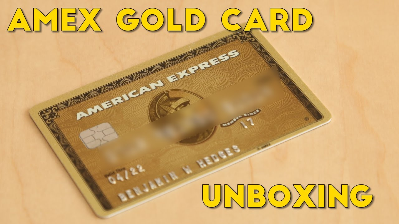 Amex gold card unboxing perks explained youtube amex gold card unboxing perks explained colourmoves