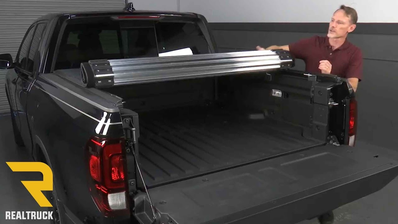 2017 Honda Ridgeline Tonneau Cover >> How to Install TruXedo Titanium Tonneau Cover on a 2017 Honda Ridgeline - YouTube