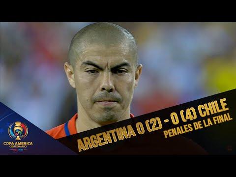 Final Copa América Centenario | Penales Argentina 0 (2) - 0 (4) Chile