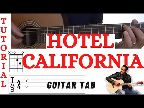 Hotel California Eagles Guitar Youtube
