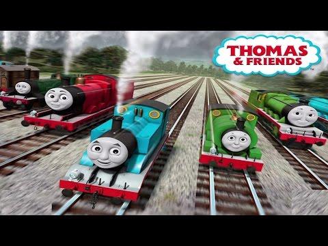 Thomas y sus amigos - Desafio de velocidad