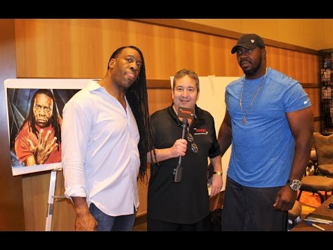 """""""Harlem Heat"""" Booker T & Stevie Ray Interview 2017!"""