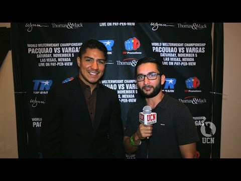 Jessie Vargas Interview - Pacquiao vs Vargas Press Conference - UCN EXCLUSIVE
