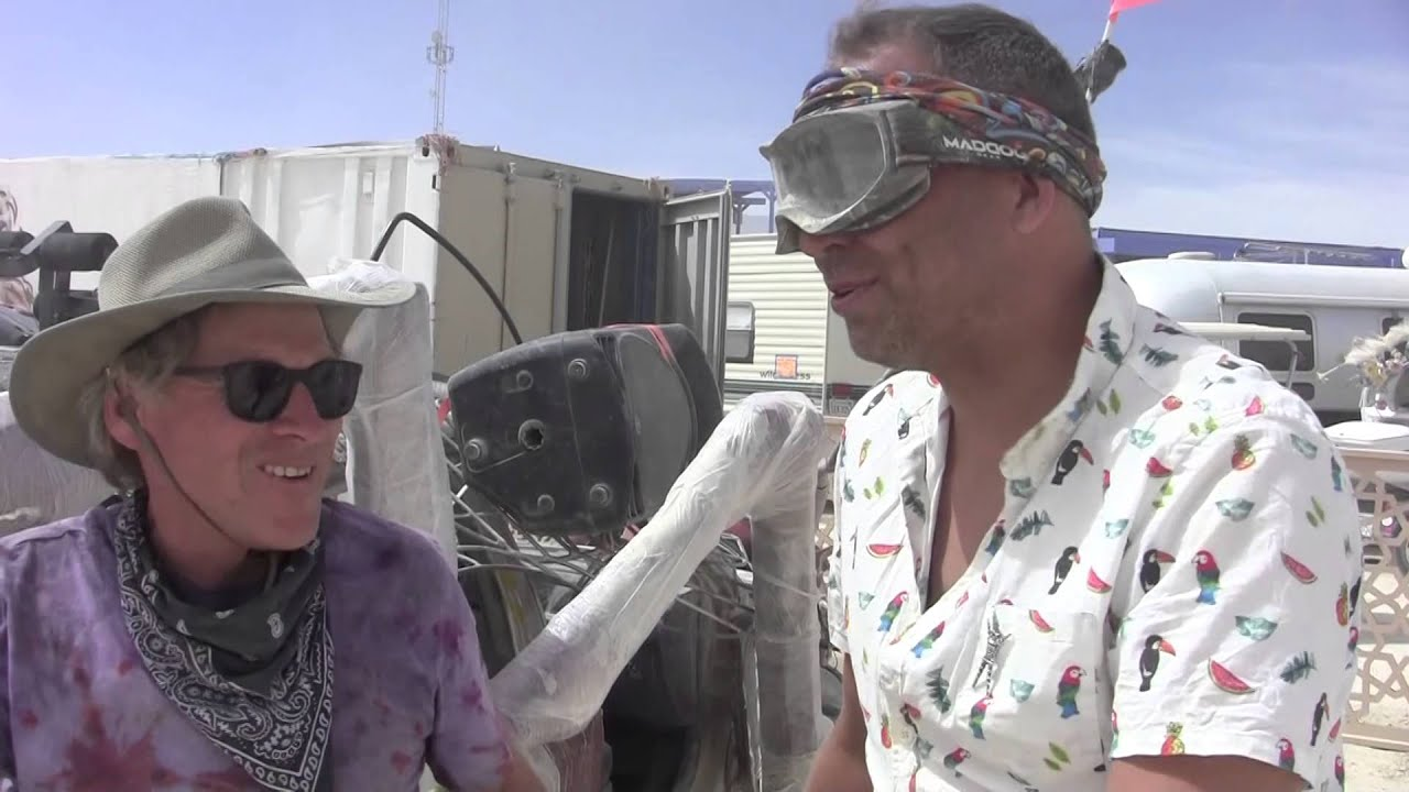 Hub Culture Camp at Burning Man 2015, Origins with Kona Dave