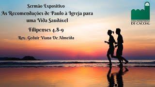 As Recomendações de Paulo à Igreja para uma Vida Saudável - Das 18h