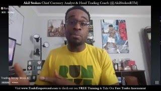 Forex Trading Recap Week 6 2016 (Live Periscope)
