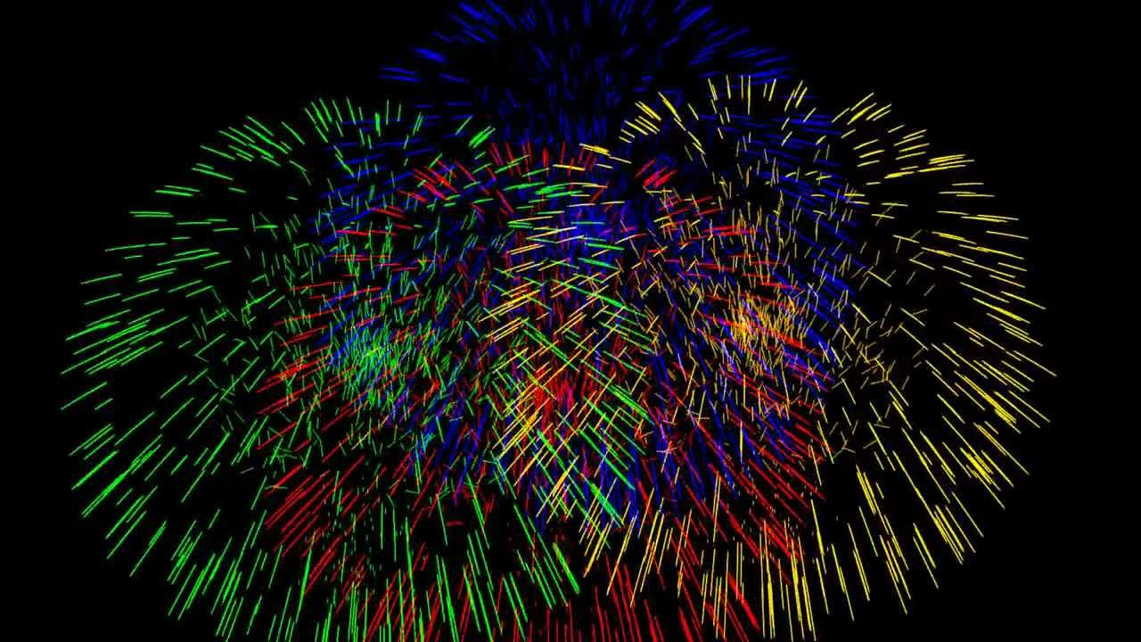 Ppt Wallpapers Animations Multiple Firework Animation Youtube