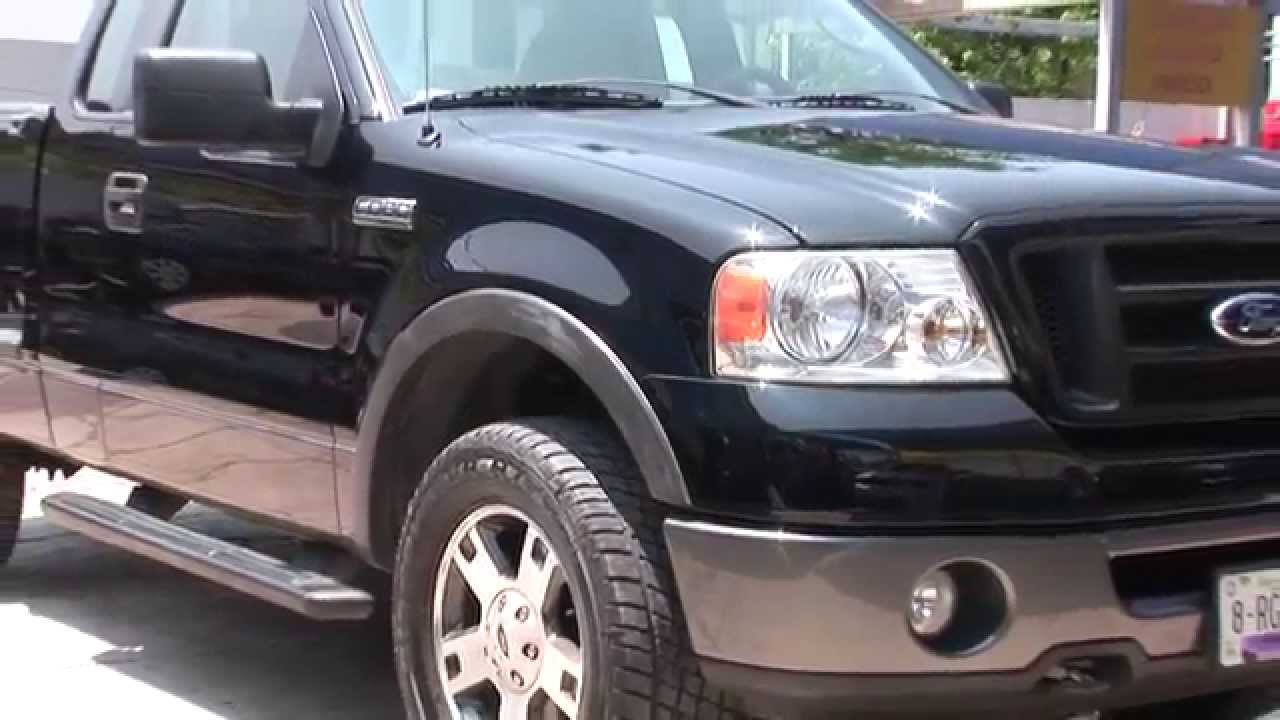 Ford Pick Up Fx4 Sport 4x4 1  4 Cabina Negro 2007