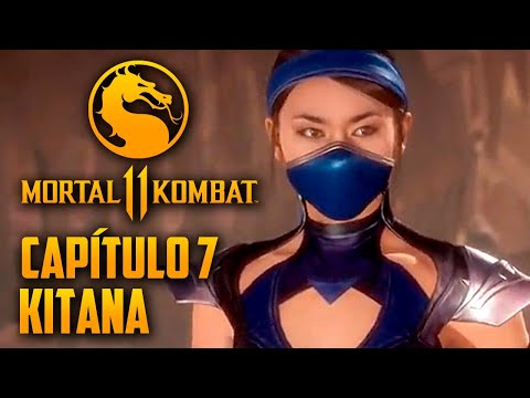 Mortal Kombat 11 Capitulo  07 - KITANA, a IMPERATRIZ do Submundo (PT-BR PS4 PRO)