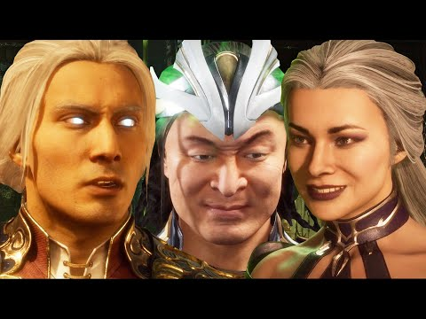 Mortal Kombat 11 Aftermath - Full Story Mode (1080p 60fps)