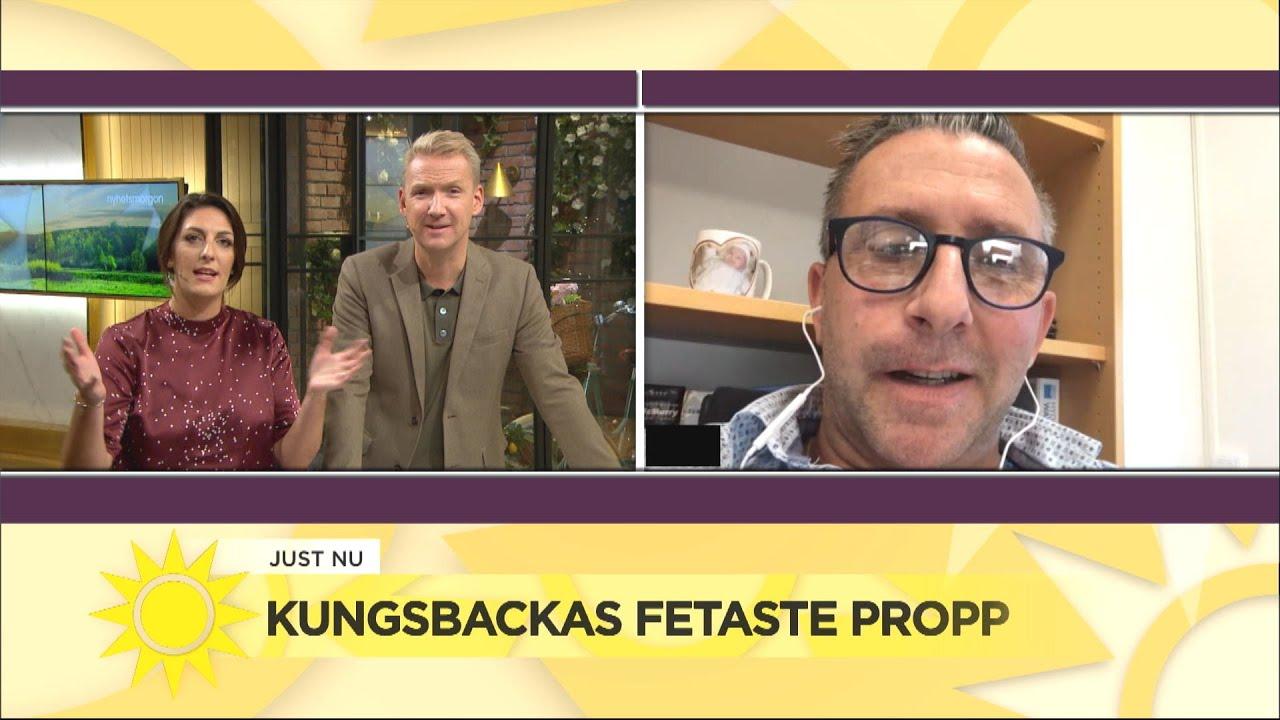 """""""En äcklig sörja"""" – de fick rensa bort Kungsbackas fetaste propp - Nyhetsmorgon (TV4)"""