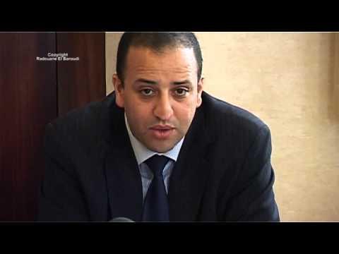 Conférence de presse Ali Anouzla Bruxelles le 15/10/13 Interviews