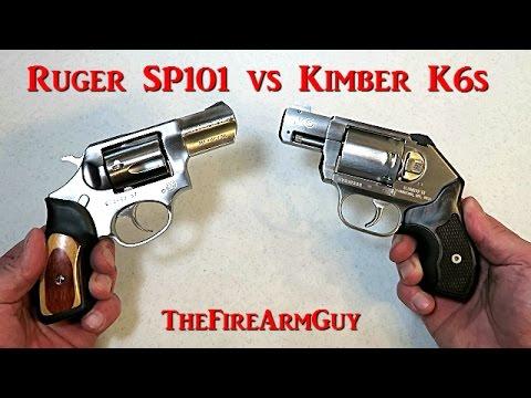 Ruger Sp101 Vs Kimber K6s