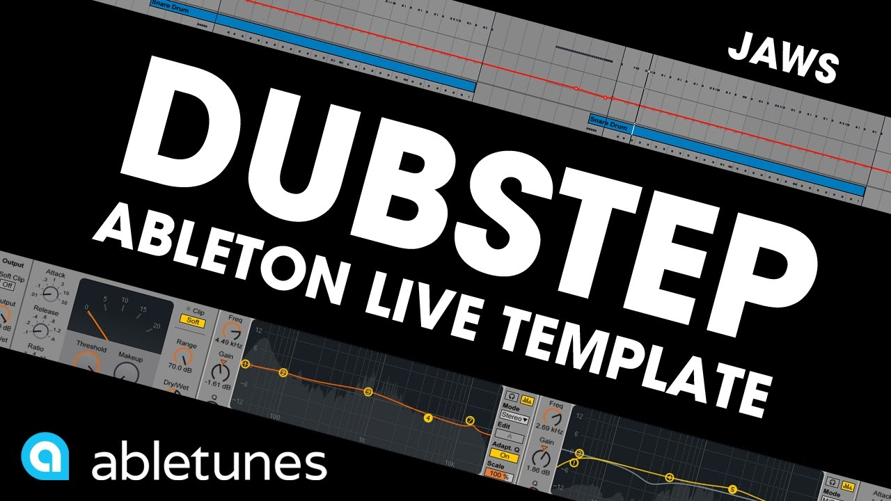 dubstep ableton template jaws by abletunes youtube. Black Bedroom Furniture Sets. Home Design Ideas
