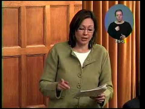 Tina Keeper Addresses Climate Change