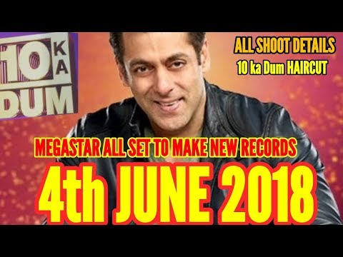 SALMAN KHAN'S DUS KA DUM ON AIR 4th JUNE 2018  NEW TELEVISION RECORDS WILL BE MADE
