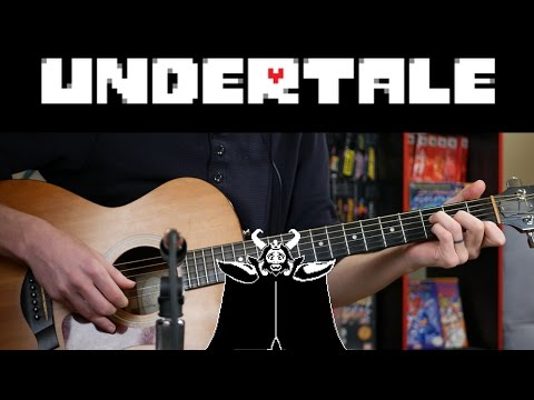 Undertale - Bergentrückung/Asgore/Determination Acoustic Guitar TABS