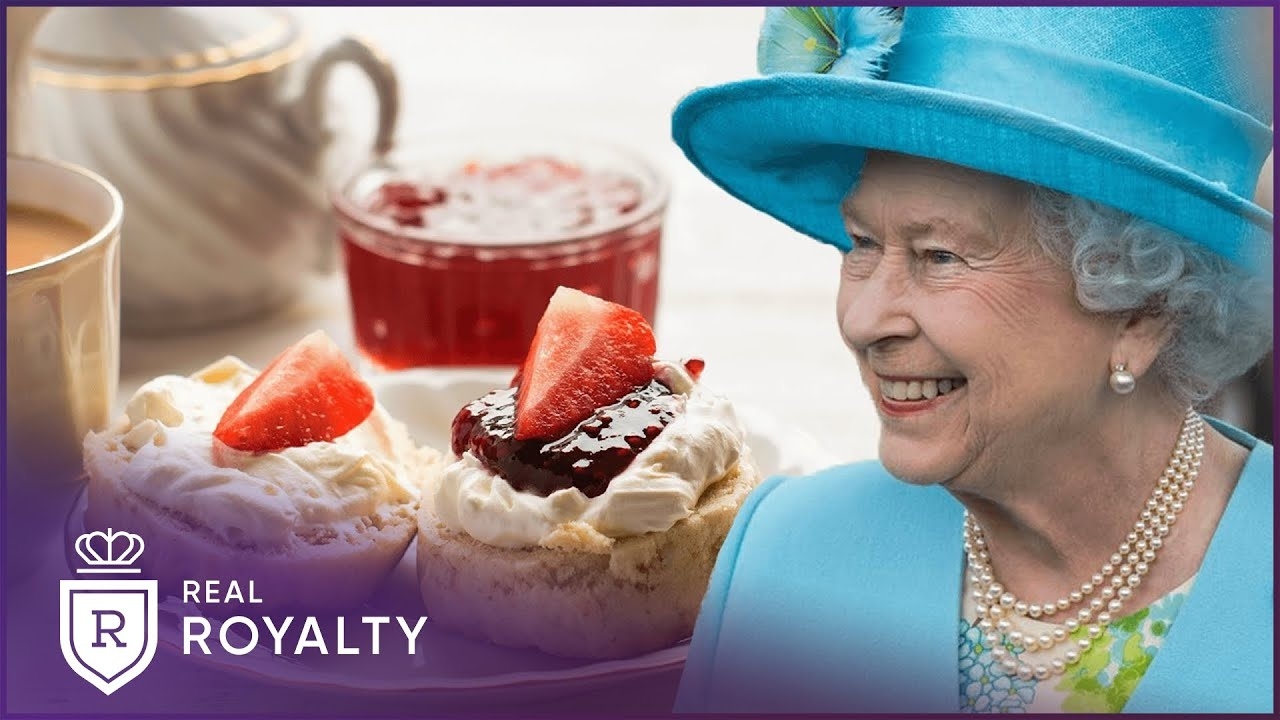 The Queen's Afternoon Tea Crown Cake | Royal Recipes | Real Royalty