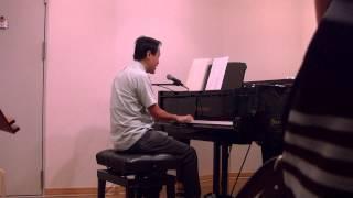 Arrangement, Vocal and Piano Play by Hiroshi Kawase, Japan 2014.8.2...