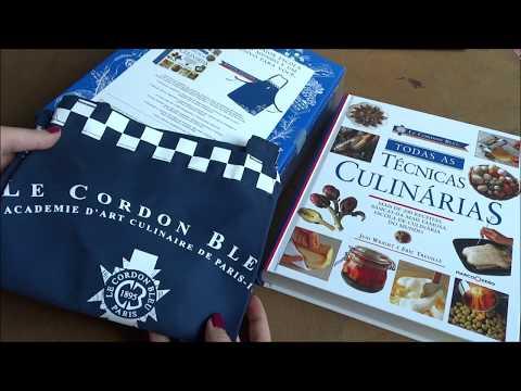 unboxing-do-livro-técnicas-culinárias-do-le-cordon-bleu