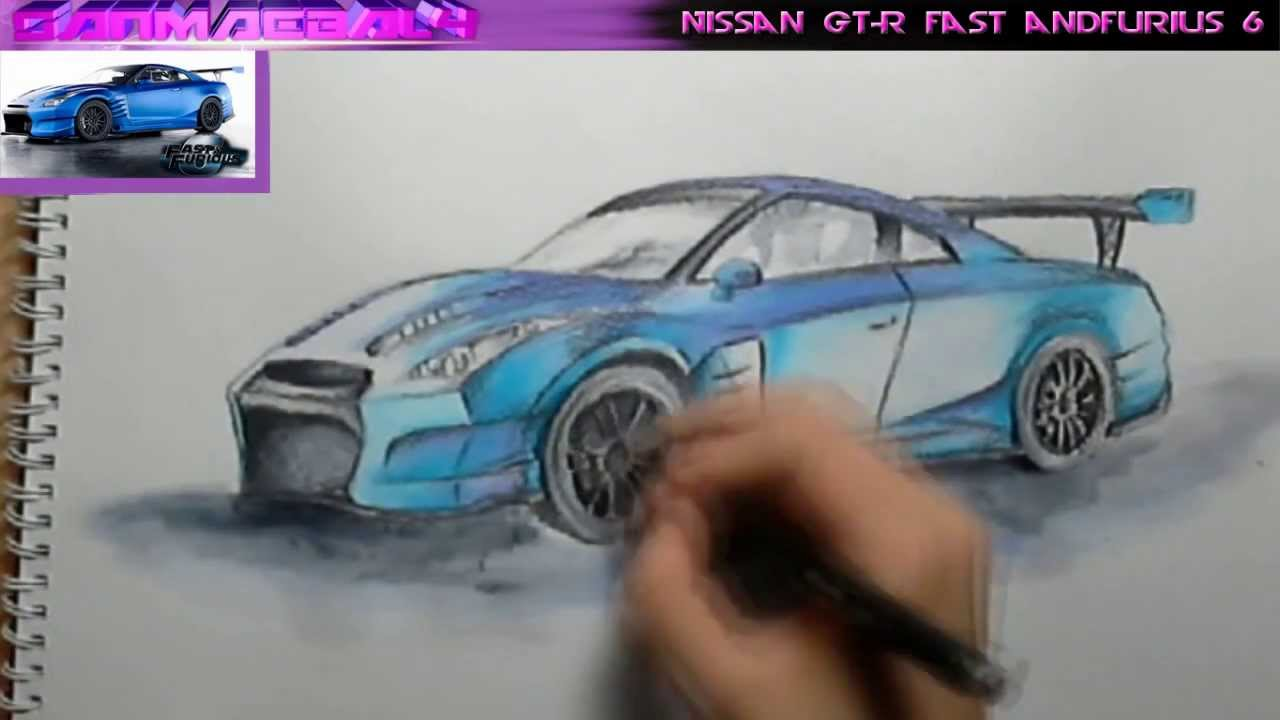 Fast And The Furious Cars Drawings
