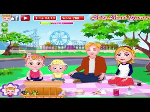 Baby hazel family picnic game level 2 enjoy snack time with hazel