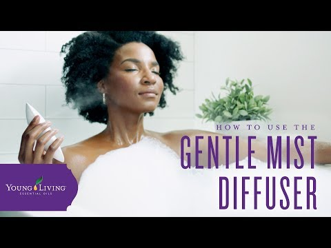 how-to-use-your-gentle-mist-diffuser-|-young-living-essential-oils