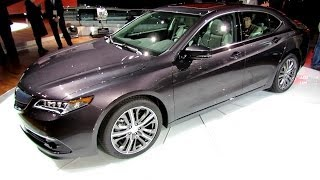 2015 Acura TLX - Exterior and Interior Walkaround - Debut at 2014 New York Auto Show