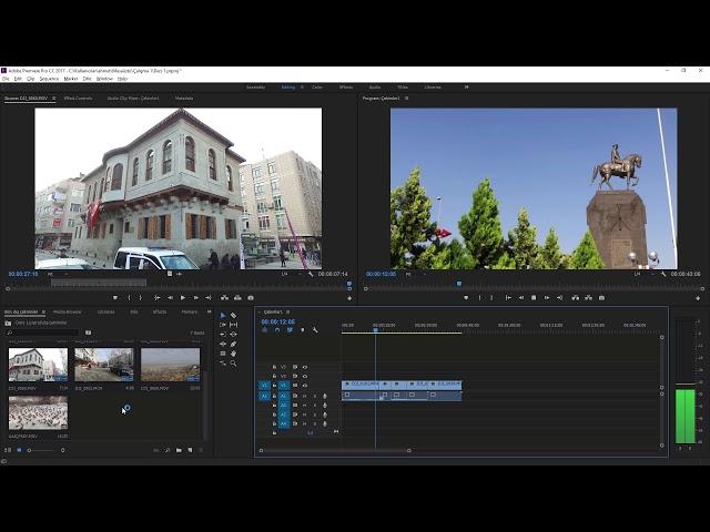 Premiere Pro Eğitimi 06 -  Klavye Kısayolları