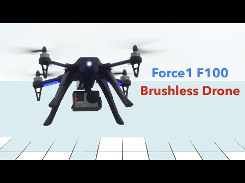 Drone Review - F100 Brushless Camera Quadcopter