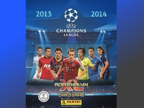 Adrenalyn XL Champions League 2013-2014 Trading Card Game! Starter Pack Opening!
