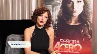 Blanca Soto Entrevista Sobre Señora Acero 2 Para Semana News 15-Sept-15