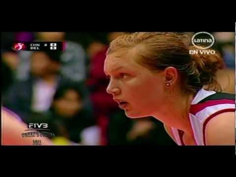 China x Belgica 3set FIVB Women's Junior 2011
