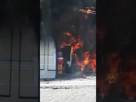 Loja de variedades pega fogo em Corumbá