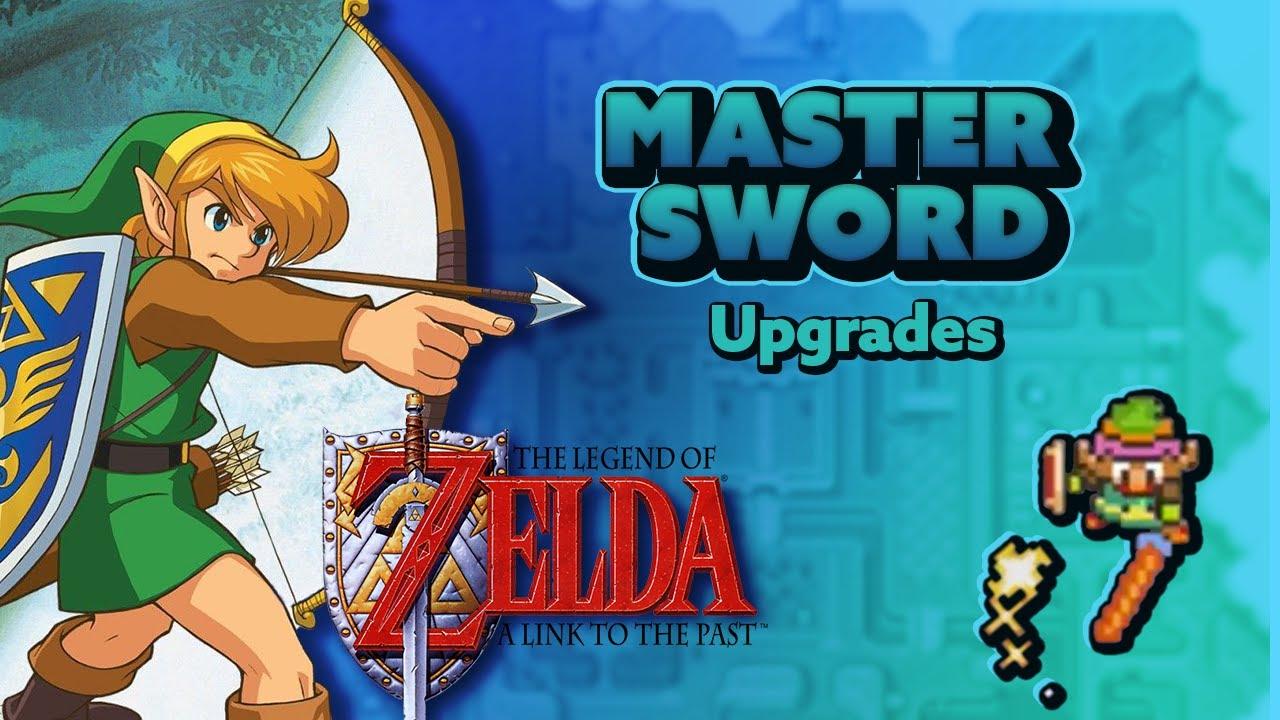 Zelda: A Link to the Past - Master Sword Upgrades