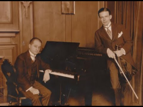 Albert Spalding-Violin-18sides-EdisonDiamondDiscs-Andre Benoist-Piano