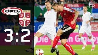 Serbien bangt noch einmal um Gruppensieg: Österreich - Serbien 3:2 | Highlights | WM-Quali | DAZN