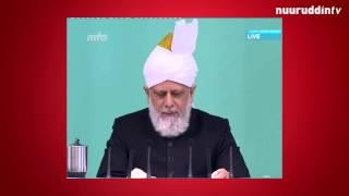 Folge den Kalifen 15.05.2015 Die Verfolgung der Jamaat (Sonntag/Urdu)