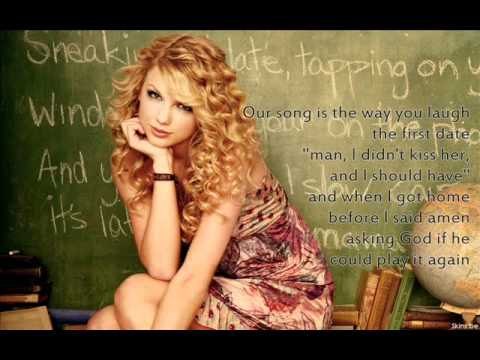 Our song - Taylor Swift (lyrics on screen).wmv